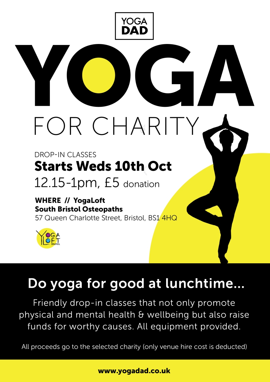 yoga AT LUNCH flyer