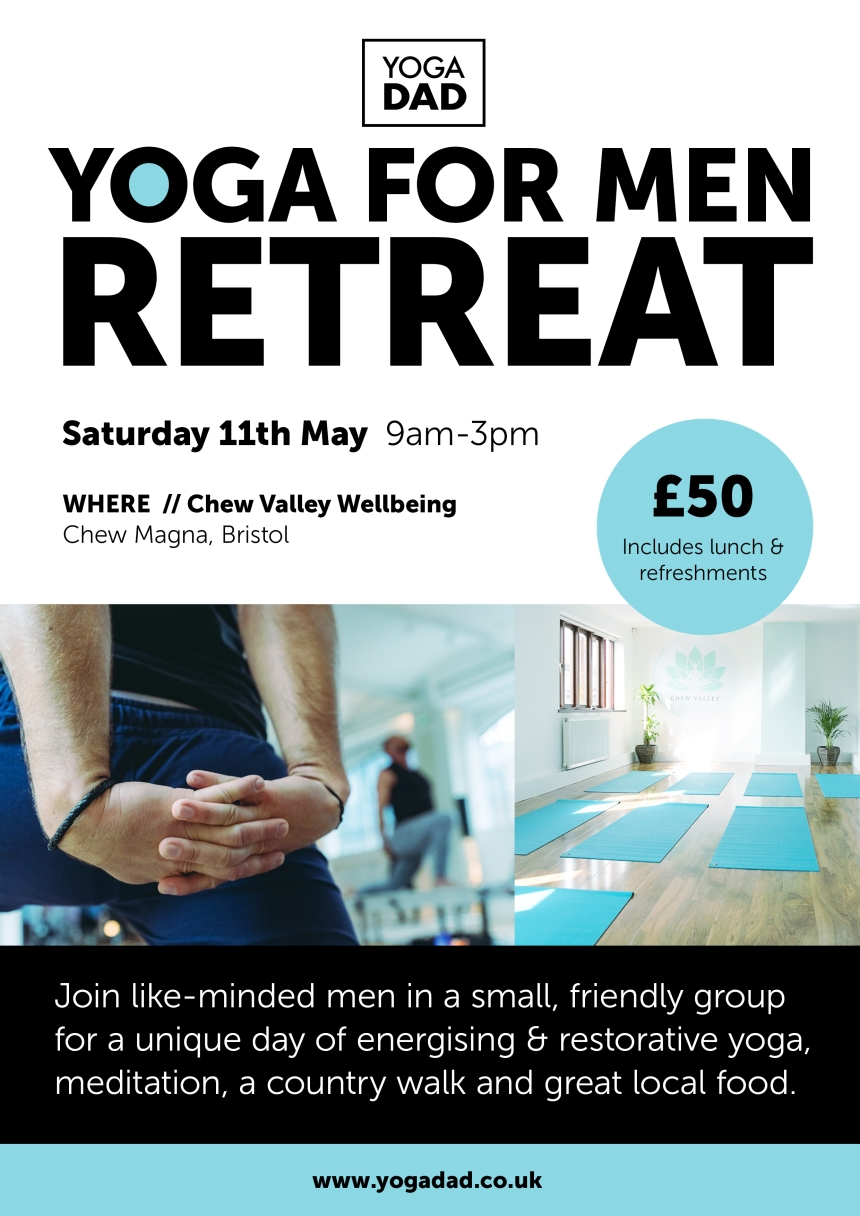 men retreat poster - May 2019
