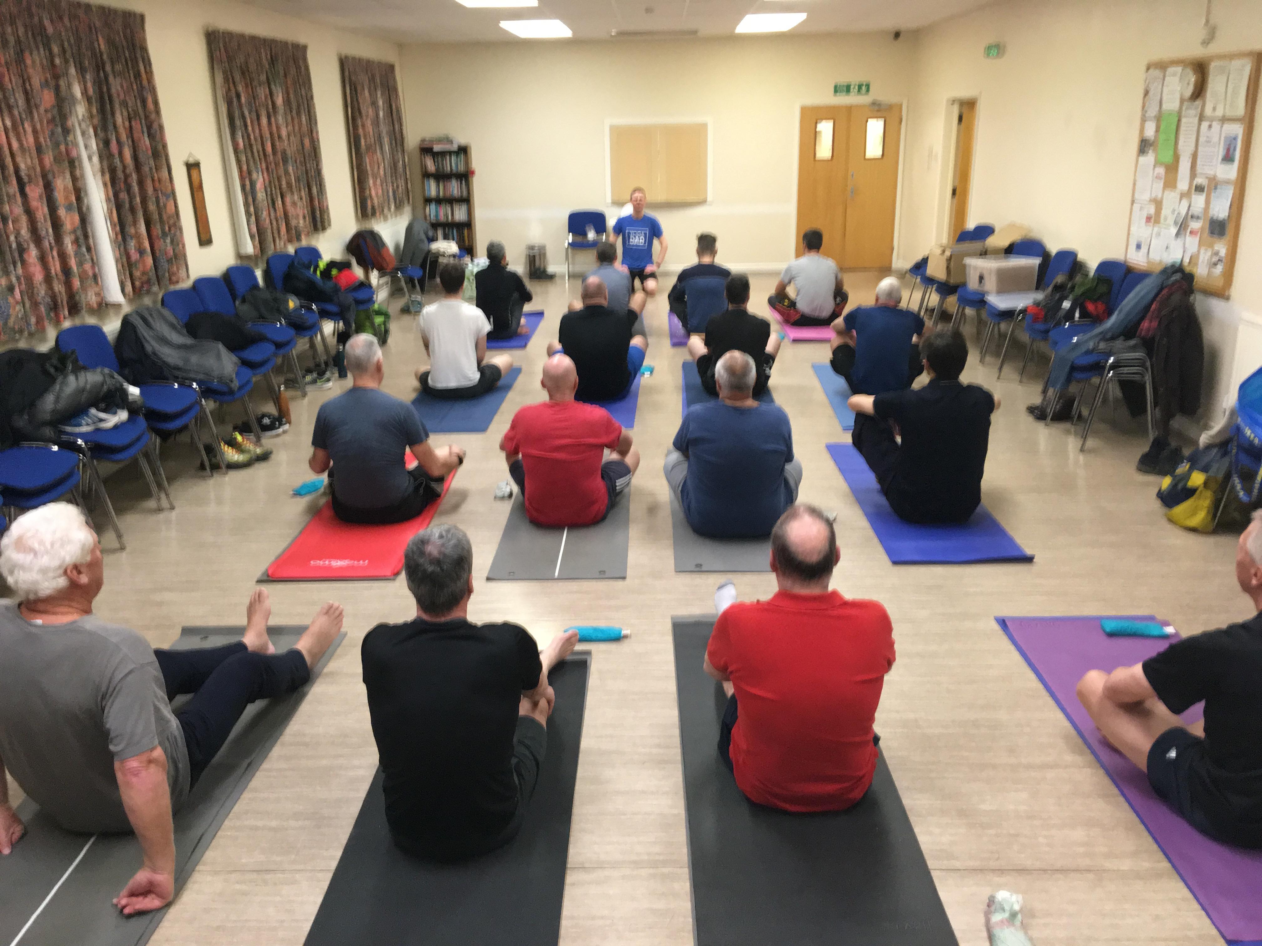 Yoga For Men blog